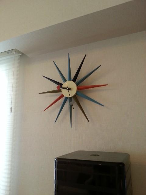 ジョージ・ネルソン カラフル時計