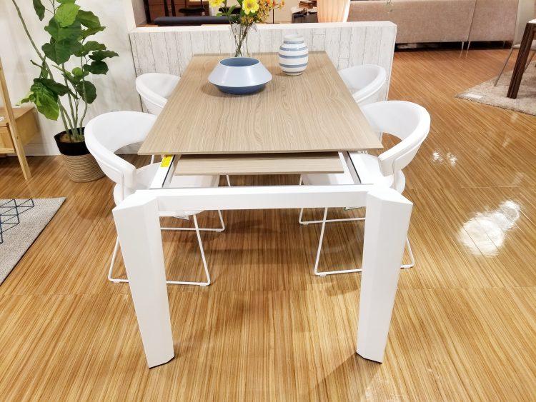 延長 伸長 広島 家具 そごう テーブル