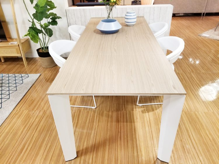 広島 テーブル そごう 延長 伸長 イタリア カリガリス スチール
