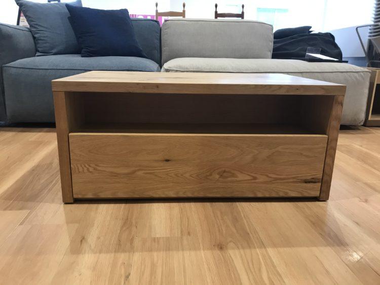 リビングハウス 無垢 リビングテーブル おしゃれ かっこいい 天然木  オーク材