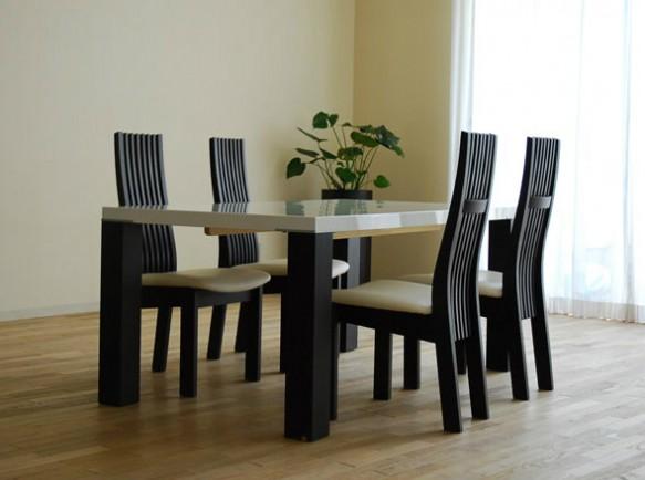 モダンダイニングテーブル1