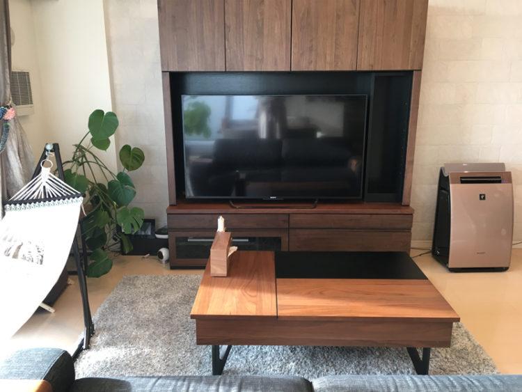 リビング オシャレ 壁面収納 テレビボード リビングテーブル