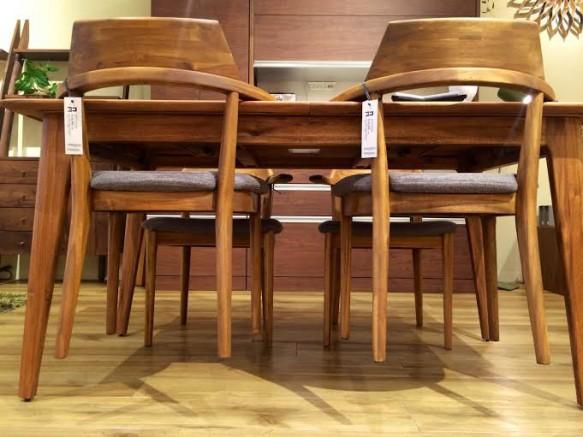 L-EDDA リビングハウス ダイニングテーブル アカシア