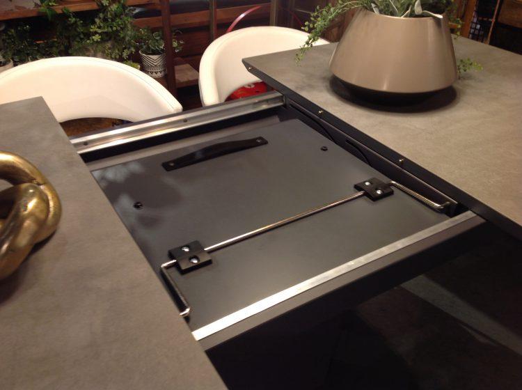 ATOS カリガリス 伸長式テーブル モダン ダイニング セメント イタリア
