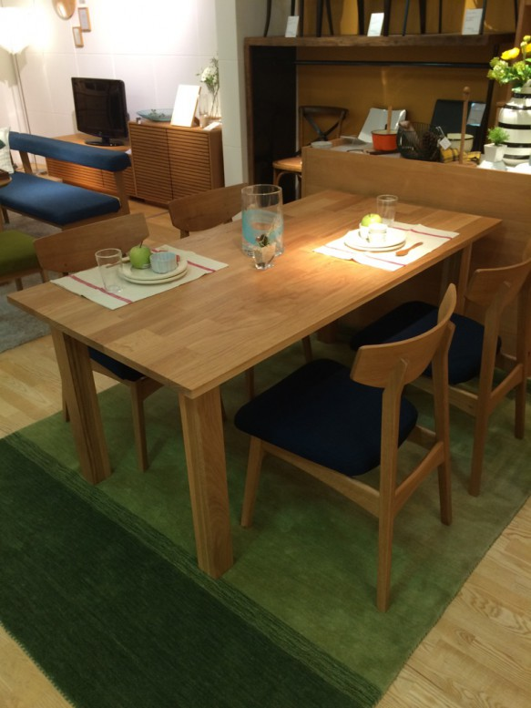 At will oak table