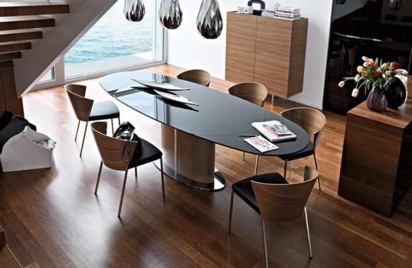 信じられない?伸び方をするイタリア製ダイニングテーブル。 おしゃれな家具なら|インテリアショップ リビングハウス