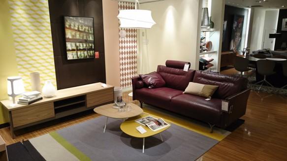 Natuzzi sofa Tenore 088 2.5P 本革 40JD