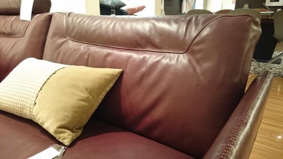 Natuzzi sofa Tenore 088 2.5P 本革 バッククッション