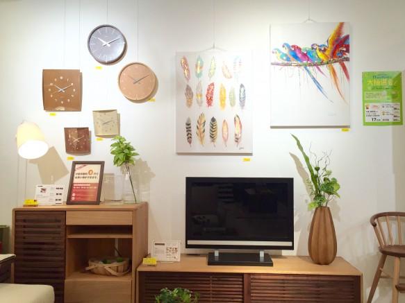 テレビボード テレビ 壁 インテリア オシャレ 壁面 アート 飾りつけ