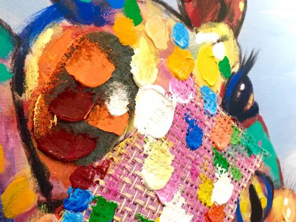 リビングハウス オリジナルアート キリン 動物 アート ノルディコ livinghouse