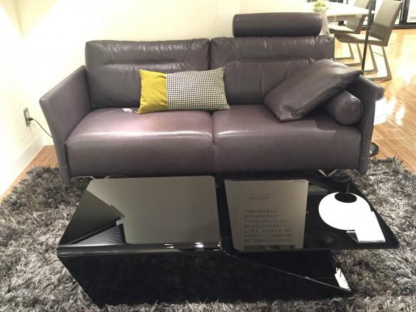 Natuzzi sofa Tenore 088 2P 本革