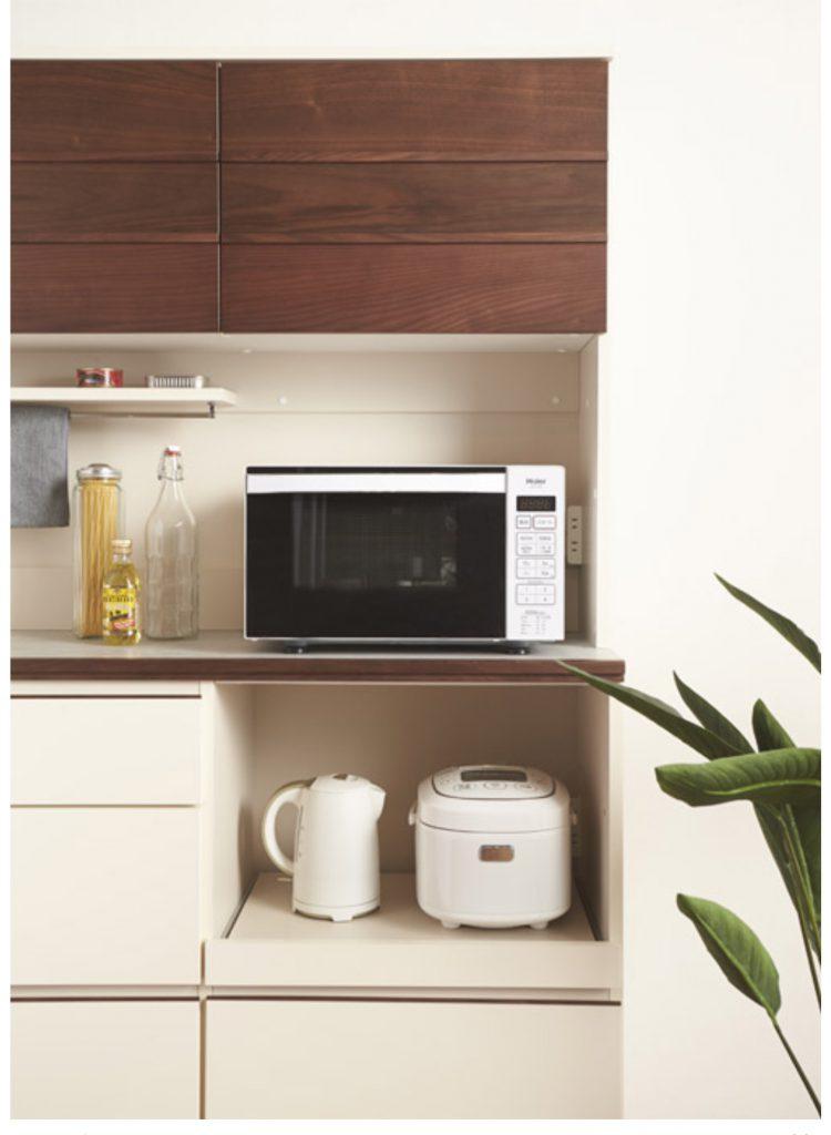 キッチン キッチンボード おしゃれ LIVINGHOUSE リビングハウス 木 ぬくもり