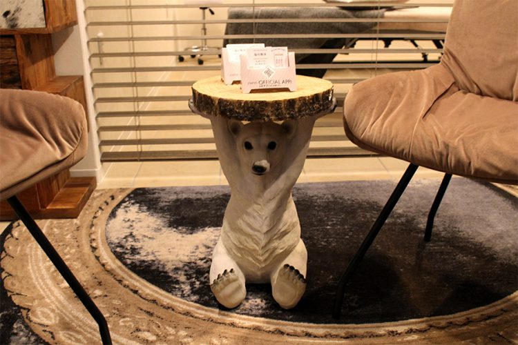 KARE サイドテーブル クマ