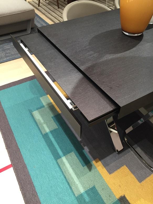 モダン 伸張式テーブル