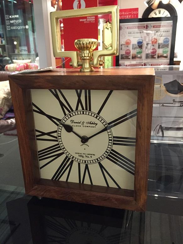 オシャレな置き時計