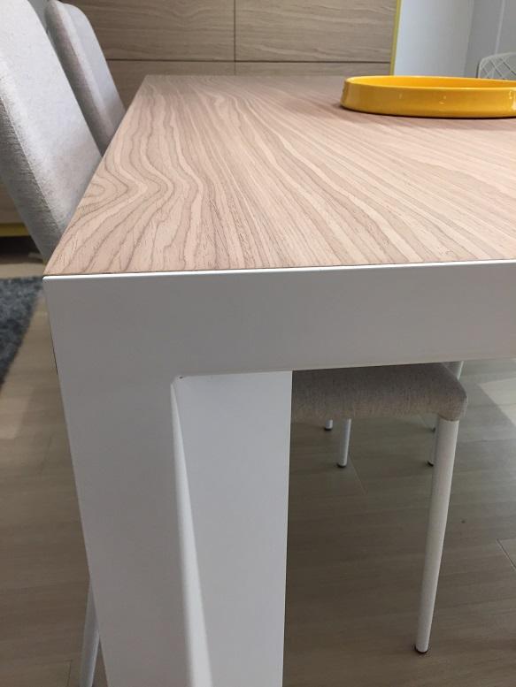 ナチュラル ダイニング 伸長式テーブル