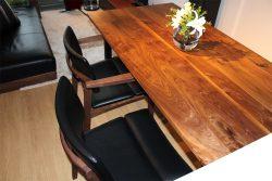 ダイニングテーブル ウォールナット ブラック