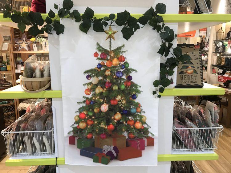 甲子園、雑貨、クリスマス、店頭