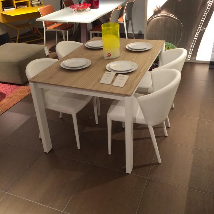 カリガリス 伸長式ダイニングテーブル
