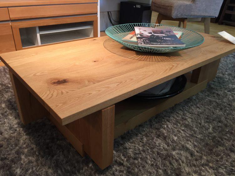 無垢材 カウンターソファ インテリア ソファ リビングテーブル