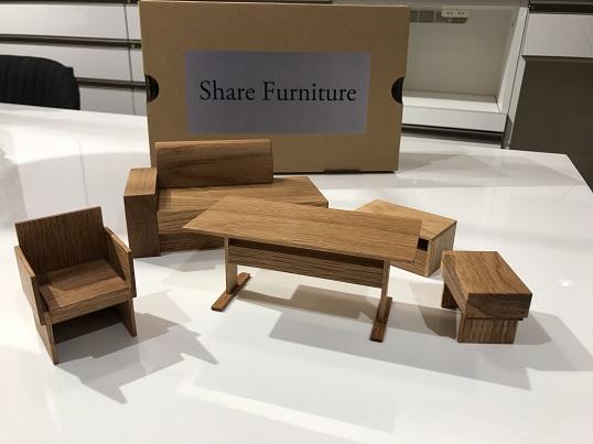 Shareシリーズ模型