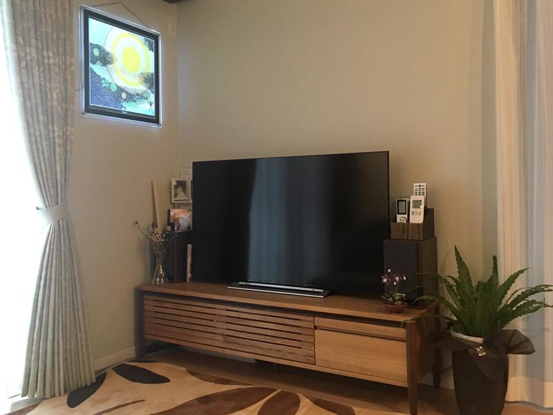 テレビボード 天然木 オシャレ 脚付き