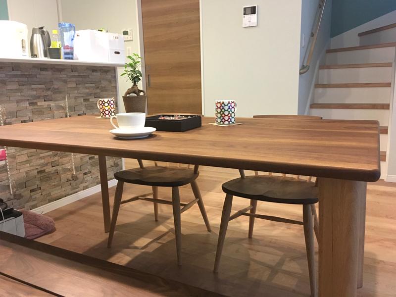 ダイニングテーブル チェア ナチュラル 天然木 板座