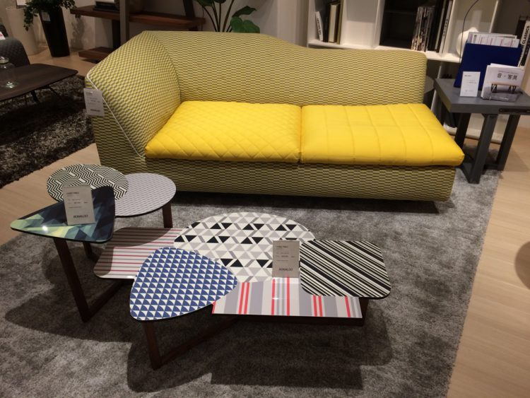 BONALDO SOFA ,LIVING TABLE