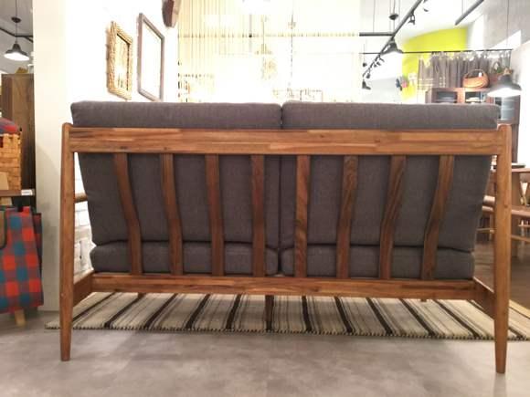 船橋 ノルディコ  スッキリ コンパクト 木枠 綺麗 くつろげる ダーク グレー