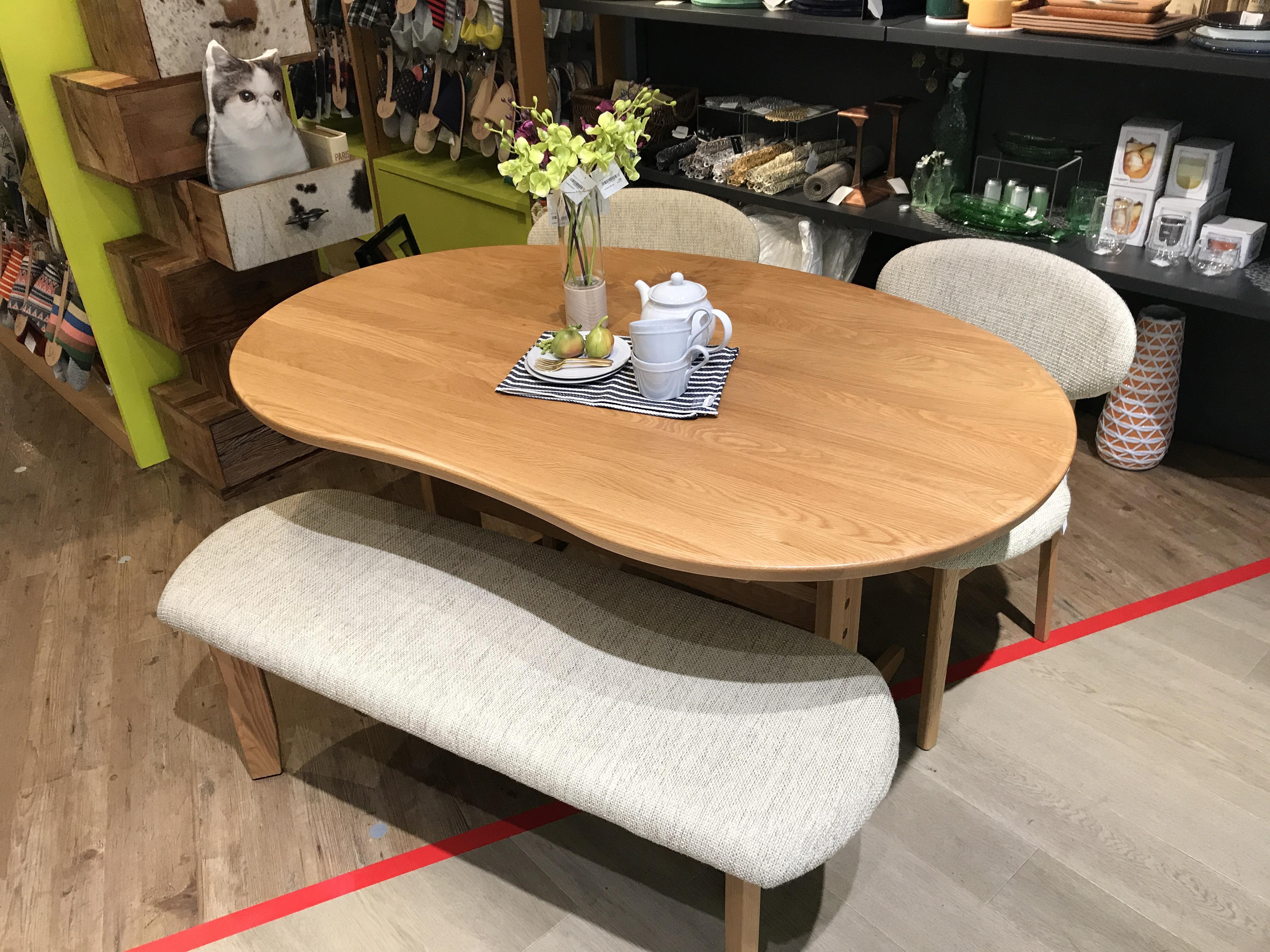 豆型テーブル