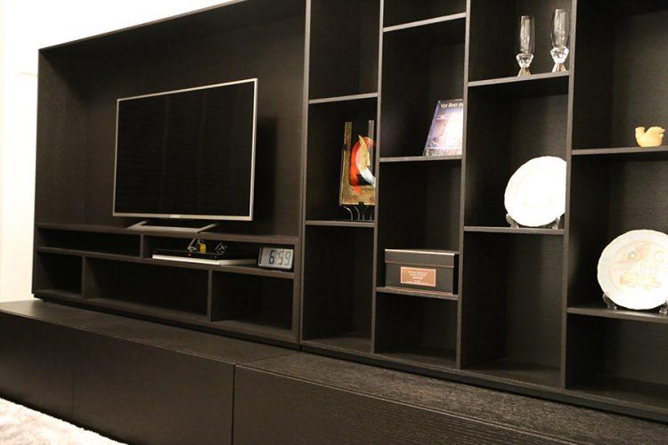 テレビボード ユニット 壁面