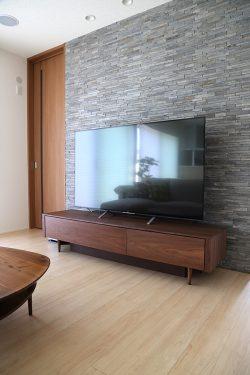 テレビボード ウォールナット