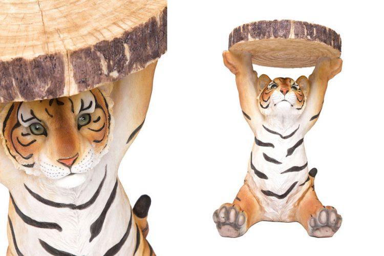 Side Table Animal Tiger