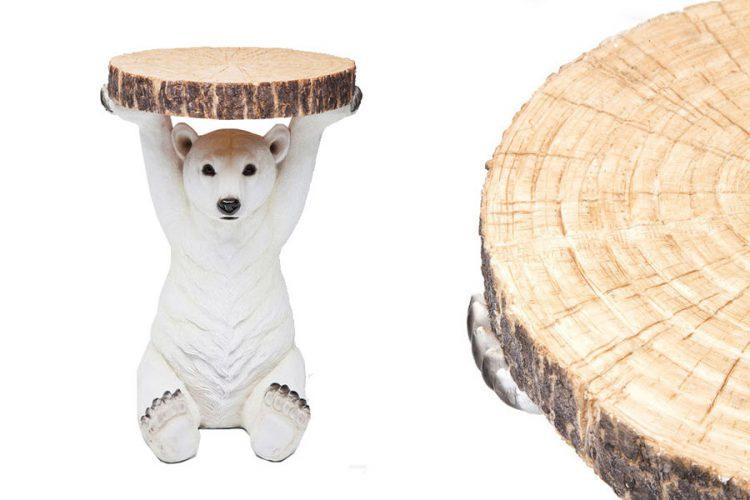 Side Table Animal Pola Bear
