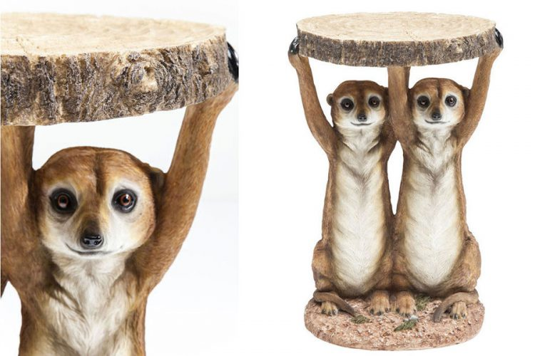 Side Table Animal Meerkat
