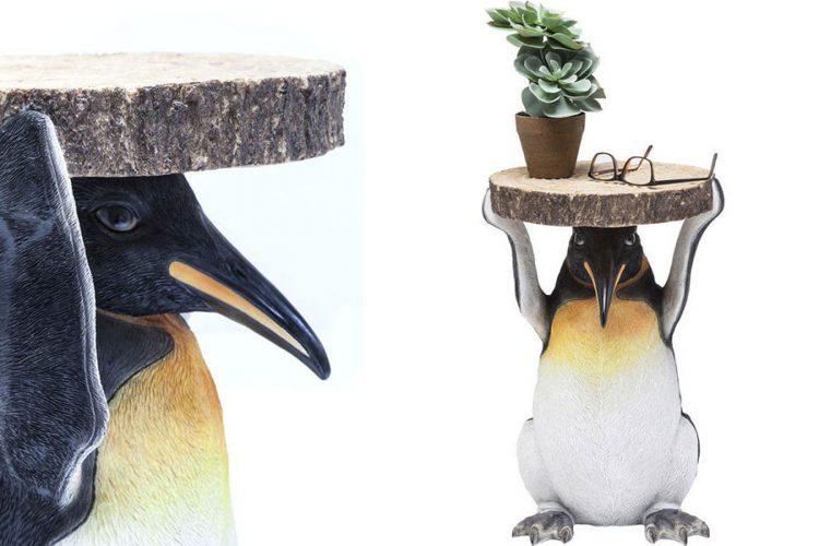 Side Table Animal Penguin