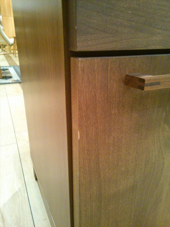 カウンター 食器棚 北欧 レトロ かわいい