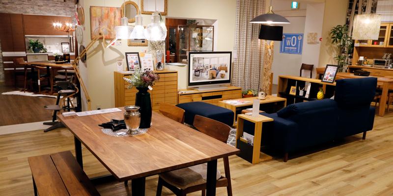 LIVING HOUSE. 堀江店 リビングハウス インテリア 家具