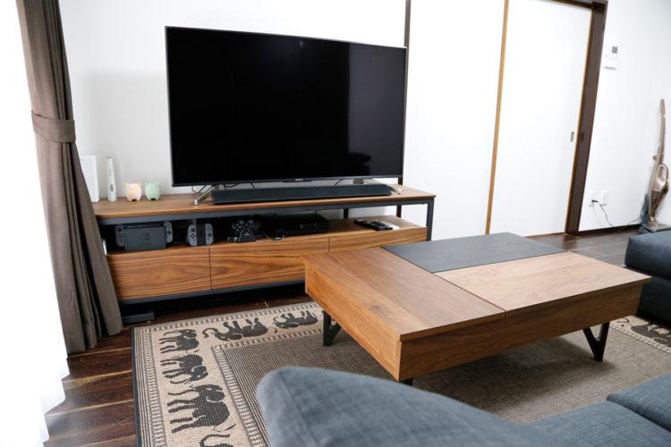 リビング オシャレ リフレクト L-Due  テレビボード リビングテーブル