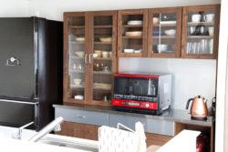 キッチン 食器棚 オシャレ ルシード