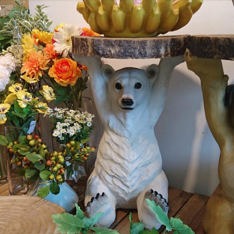 KARE サイドテーブル シロクマ pollar bear