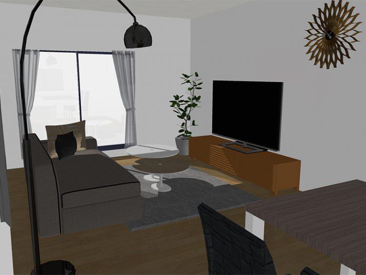 北欧 モダン ナチュラル カリガリス 3D