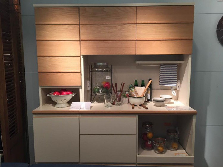 リビングハウス キッチンボード 食器棚 インテリア