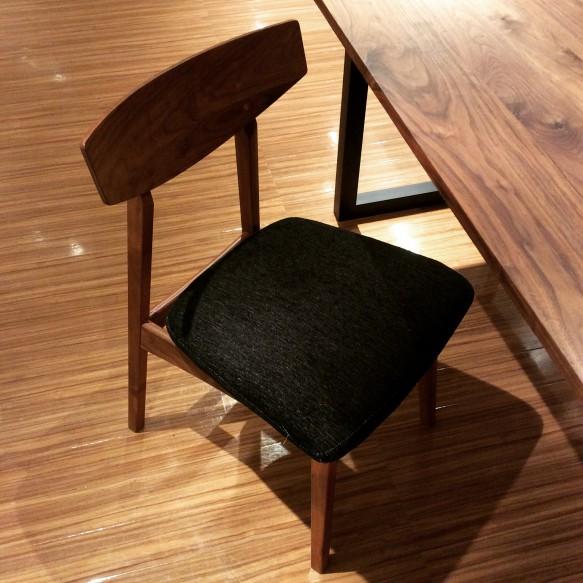 無垢 チェア 椅子 ビンテージ ウォルナット かっこいい ナチュラル