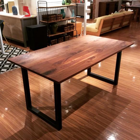 無垢 テーブル ビンテージ ウォルナット かっこいい