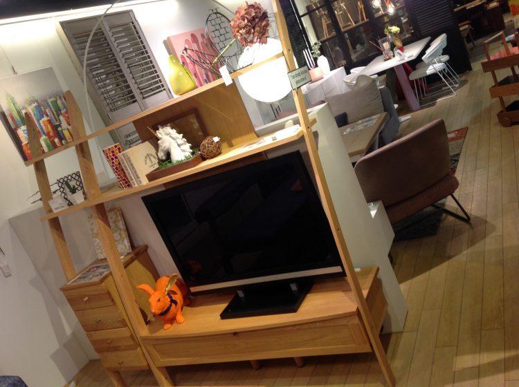 TVボード リビングボード 曲線美 リビングハウス 家具
