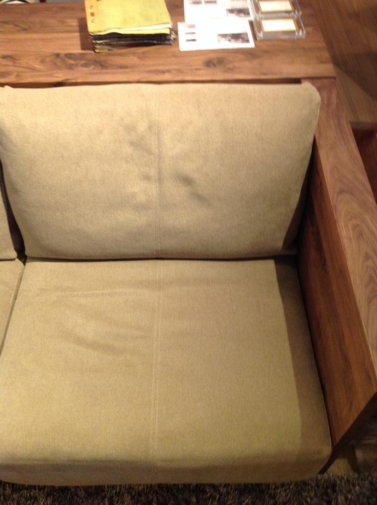 ソファ シェルフ リビ充 クッション 柔らかい 固い 無垢材 天然木