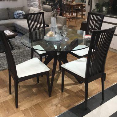 ダイニングテーブル ガラステーブル モダン