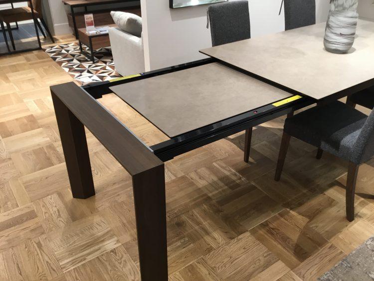 ダイニングテーブル 伸長式