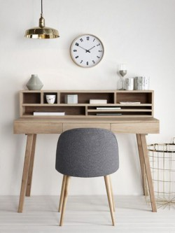 natural gold desk